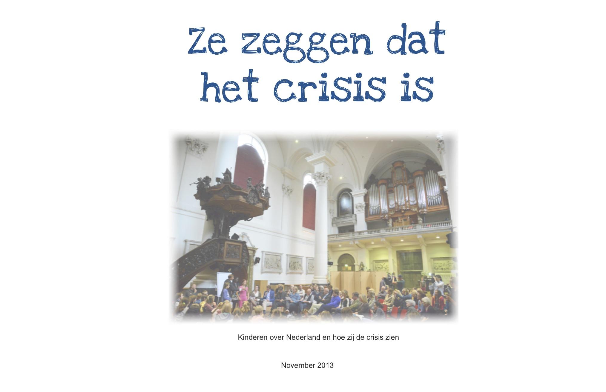 Kinderen over de crisis